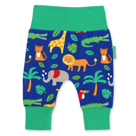 Toby Tiger Yoga Pants Jungle - little-tiger-togs