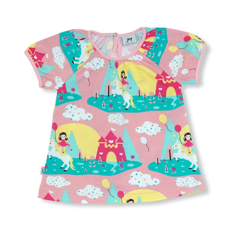JNY Puffy T-Shirt SS Unicorn - little-tiger-togs