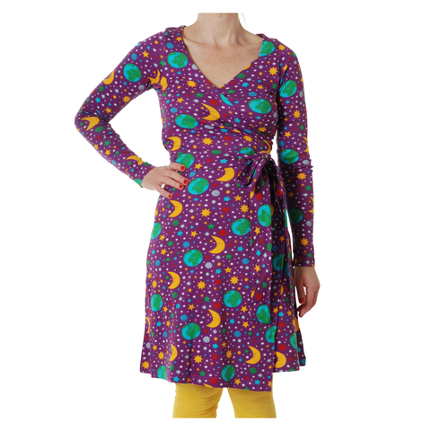 DUNS Sweden Dress Wrap LS Mother Earth Violet (Adult)