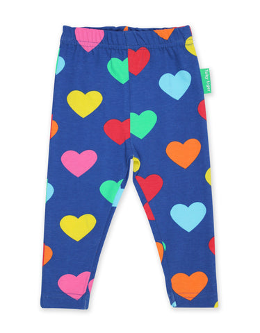 Toby Tiger Leggings Multi Heart