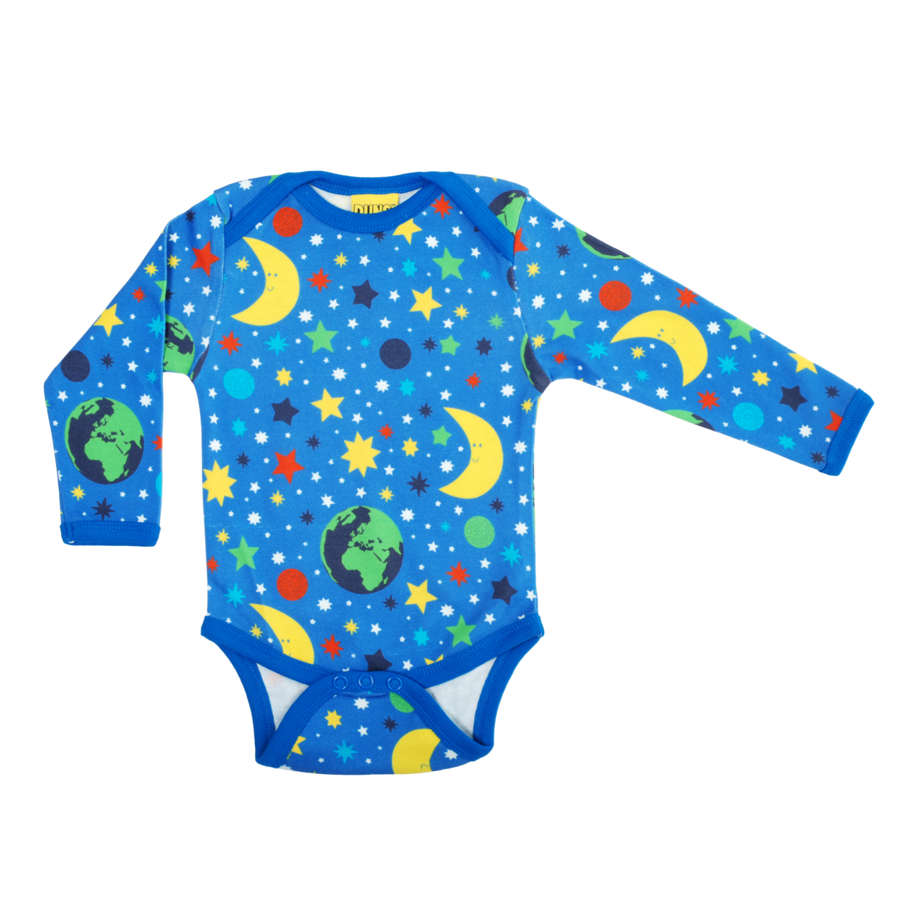 DUNS Sweden Body LS Mother Earth Blue,little-tiger-togs.