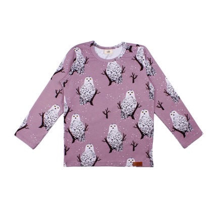 Walkiddy Shirt LS Snowy Owls,little-tiger-togs.