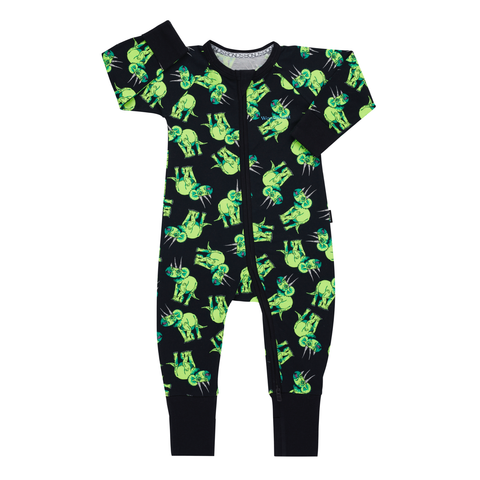 Bonds Wondersuit Triceratops Party,little-tiger-togs.