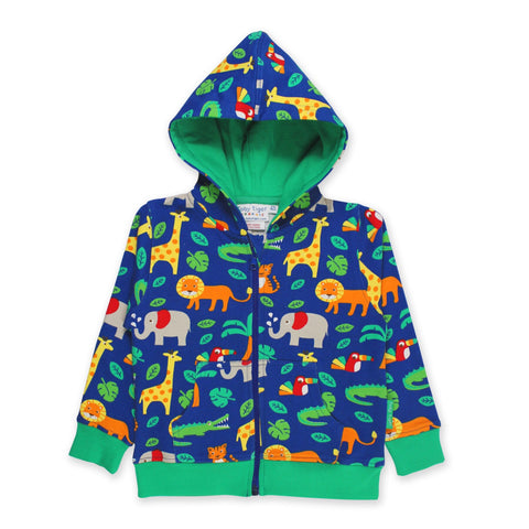 Toby Tiger Hoodie Jungle