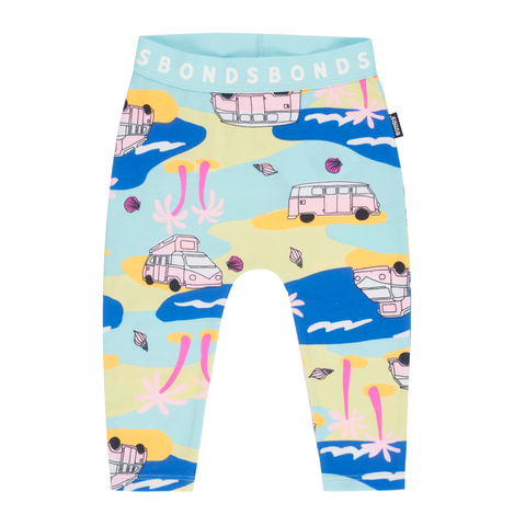 Bonds Stretchies Leggings Beach Safari