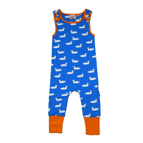 Moromini Playsuit Duck Pond Blue