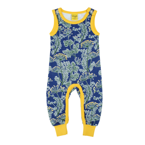 DUNS Sweden Dungarees Dill Ultra Marine