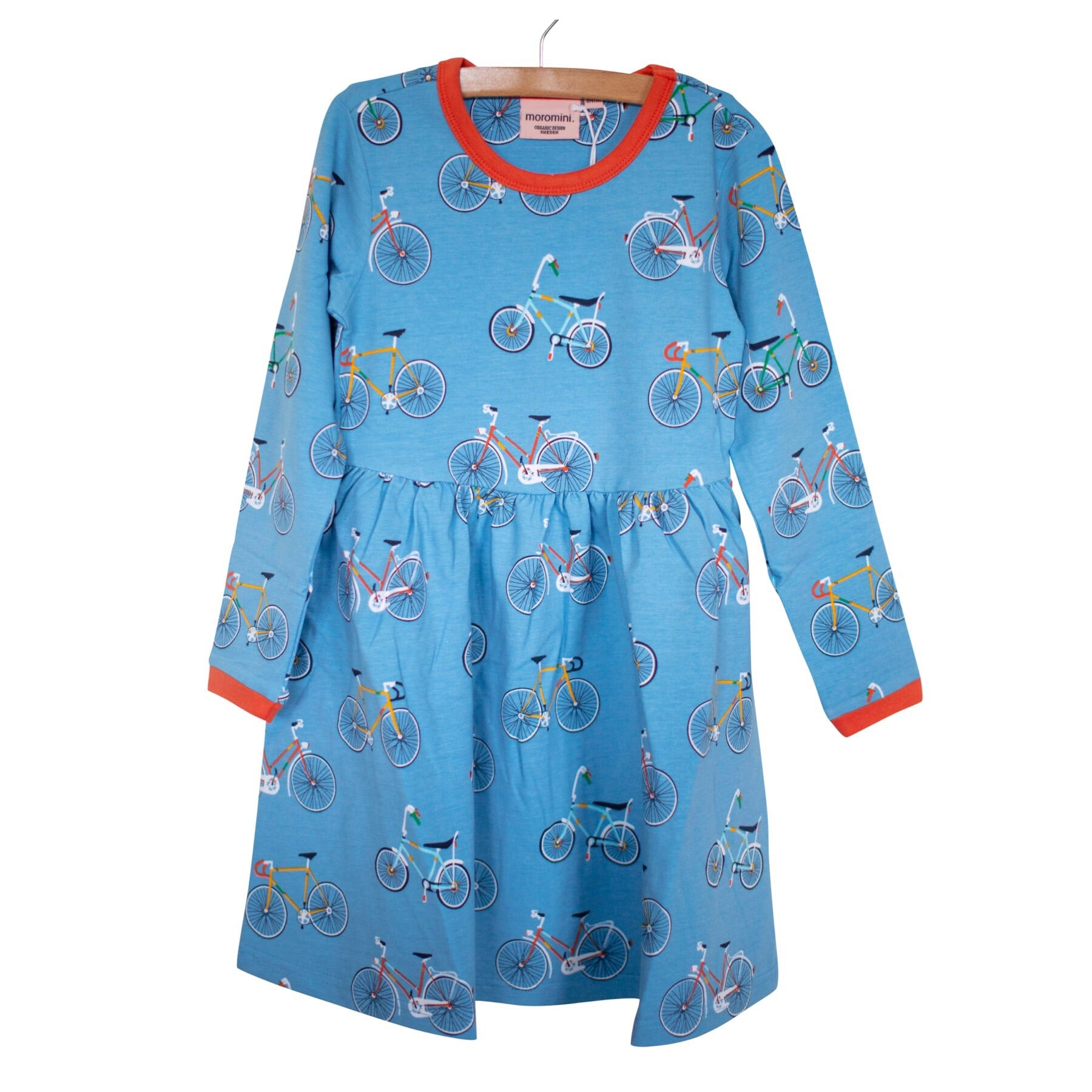 Moromini Twirly Dress LS Bike Like A Swede