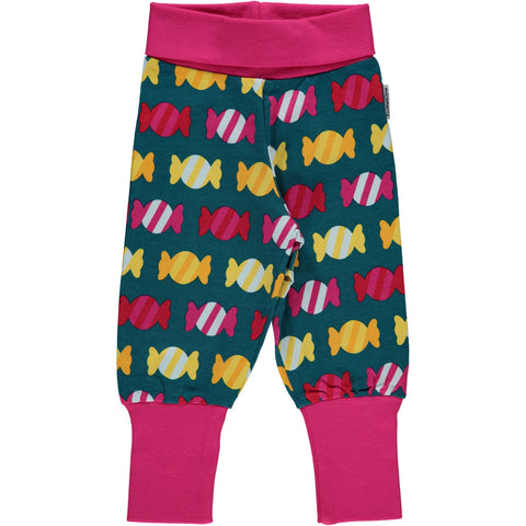 Maxomorra Pants Rib Candy - little-tiger-togs