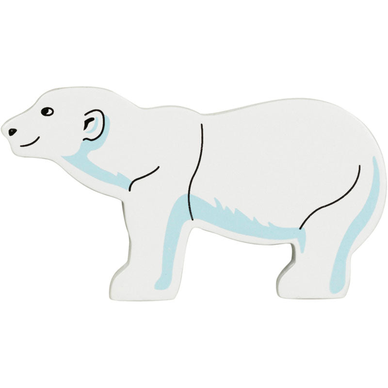 Lanka Kade Painted Polar Bear - little-tiger-togs
