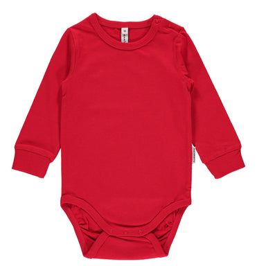 Maxomorra Body LS Red - little-tiger-togs