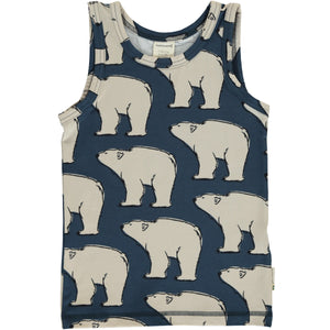 Maxomorra Tanktop Polar Bear
