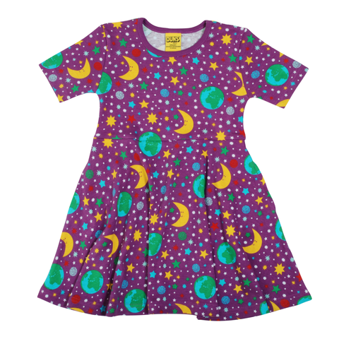 DUNS Sweden Dress Skater SS Mother Earth Violet