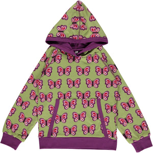 Maxomorra Hoodie Butterfly - little-tiger-togs