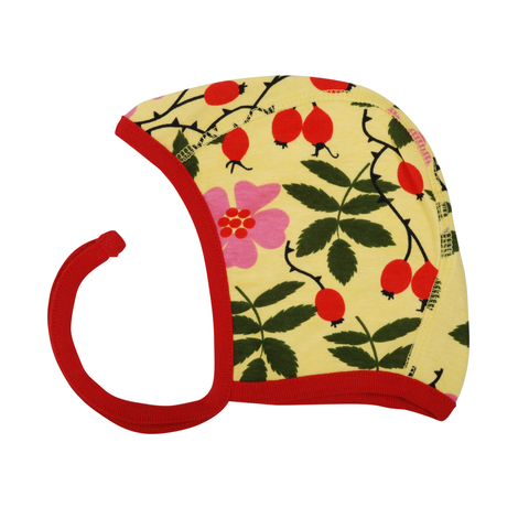 DUNS Sweden Baby Bonnet Rosehip,little-tiger-togs.