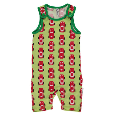 Maxomorra Playsuit Short Sports Car (2016) - little-tiger-togs