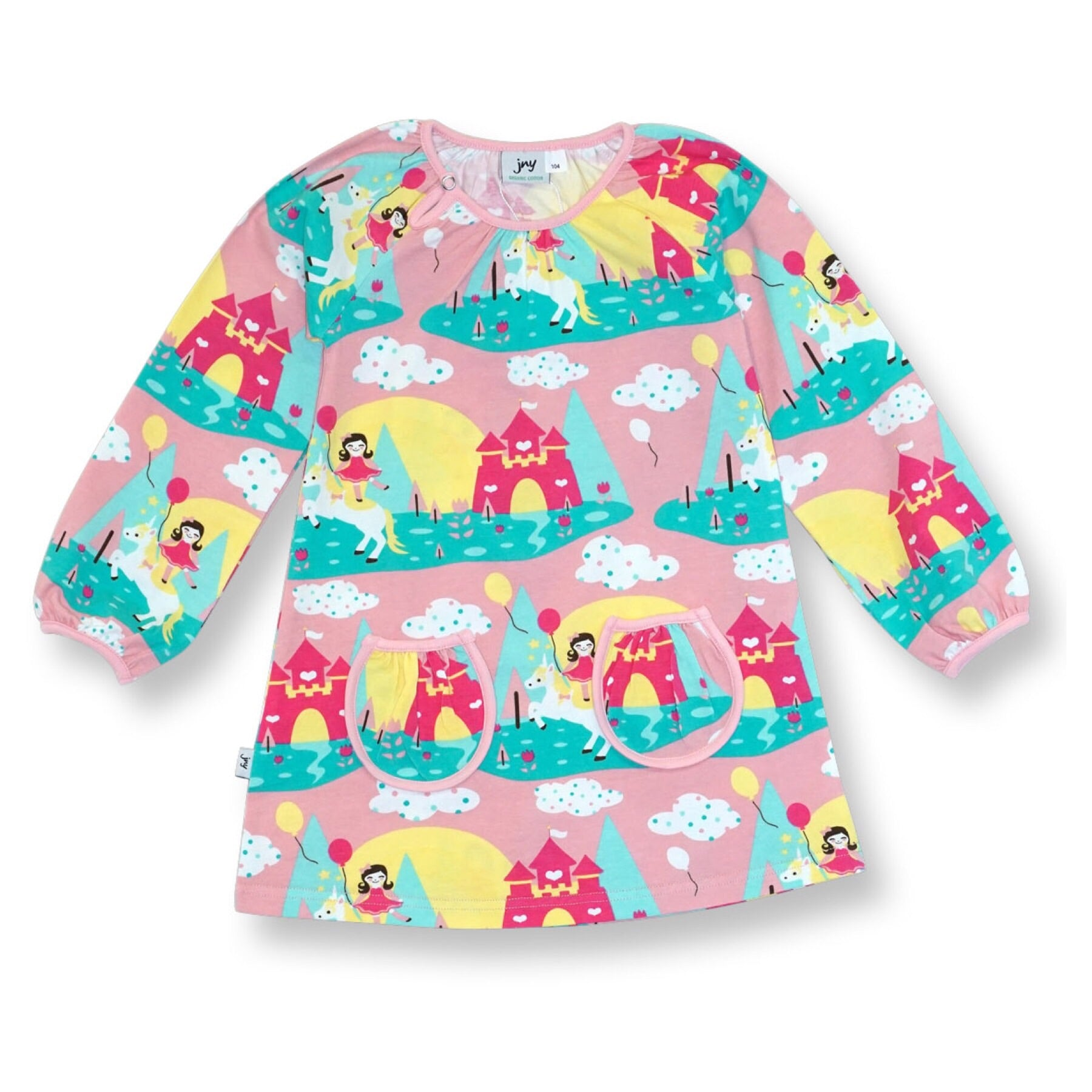 JNY Tunic LS Unicorn - little-tiger-togs