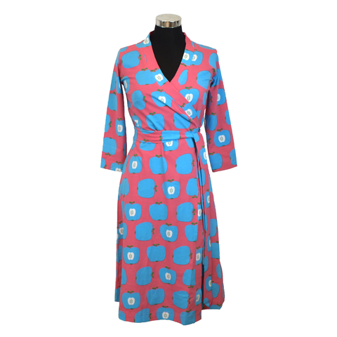 Moromini Wrap Dress Blue Apple (Adult)