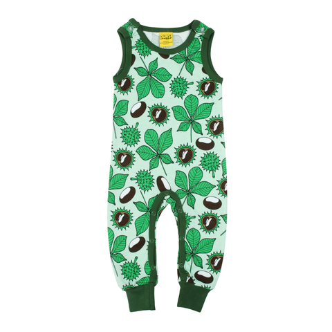 DUNS Sweden Dungarees Chestnut Brook Green,little-tiger-togs.