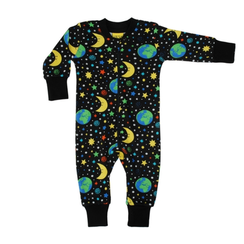 DUNS Sweden Zip Suit Mother Earth Black