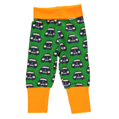 Maxomorra Pants Rib Retro Car - little-tiger-togs