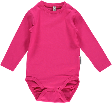 Maxomorra Body LS Cerise (50, 56) - little-tiger-togs