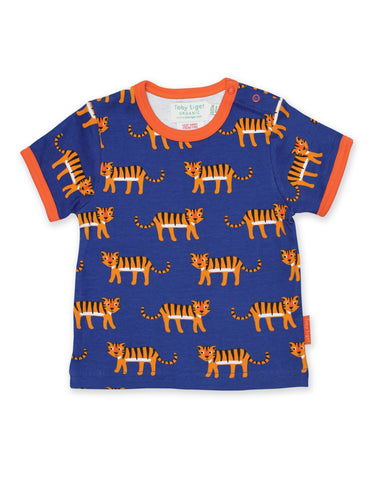 Toby Tiger T-Shirt Tiger - little-tiger-togs