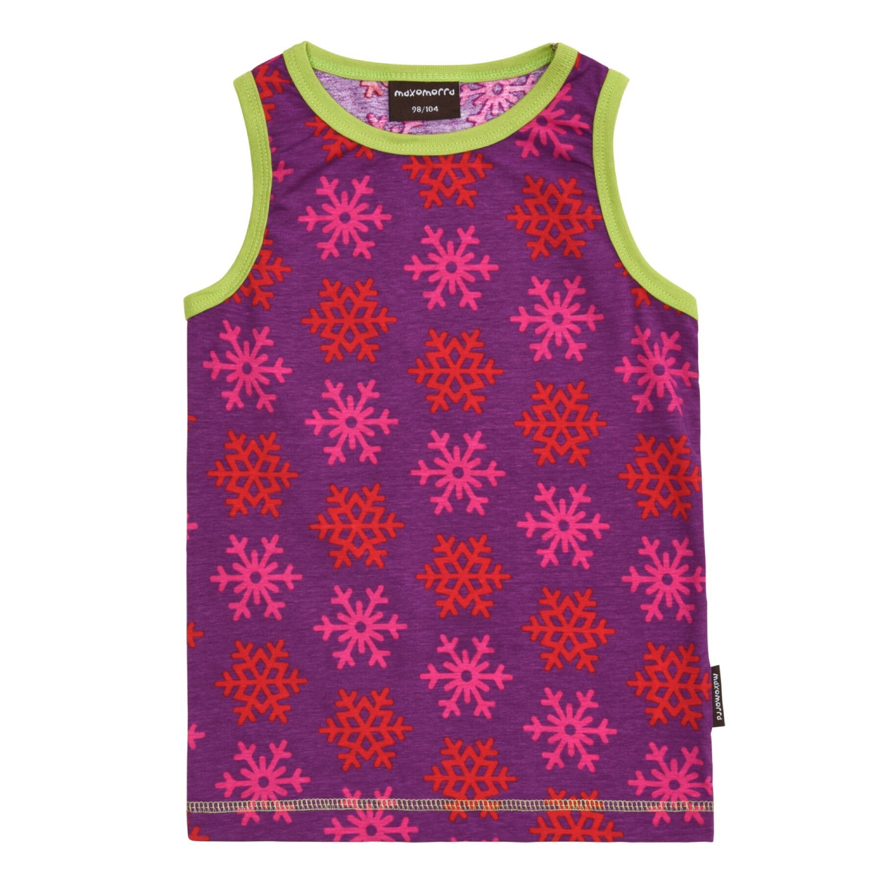 Maxomorra Tanktop Snowflakes (86/92) - little-tiger-togs