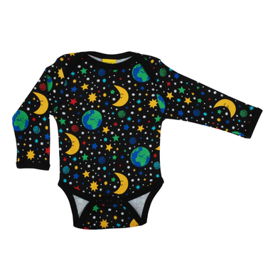 DUNS Sweden Body LS Mother Earth Black,little-tiger-togs.