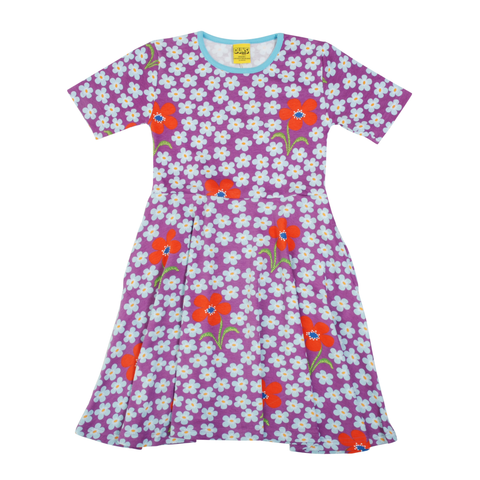 DUNS Sweden Dress Skater SS Flower Amethyst