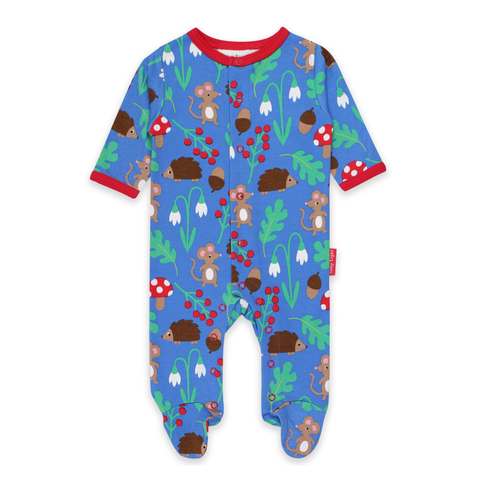 Toby Tiger Sleepsuit Woodland
