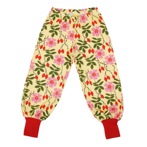 DUNS Sweden Baggy Pants Rosehip,little-tiger-togs.