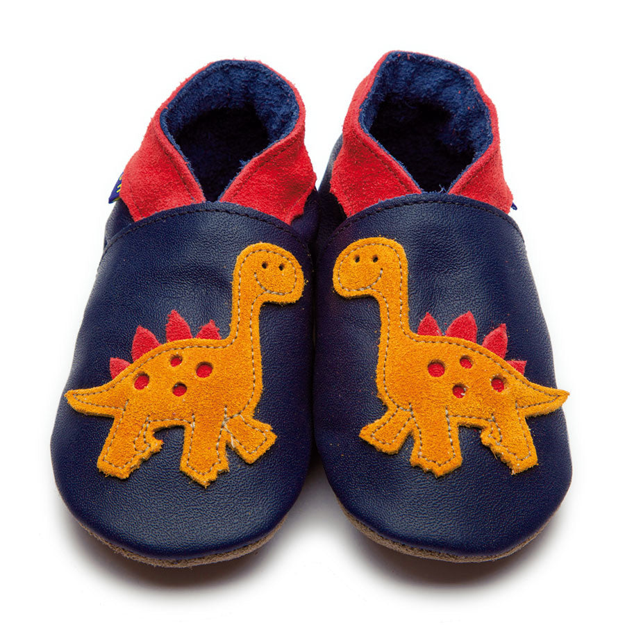 Inch Blue Shoe Dino Navy,little-tiger-togs.