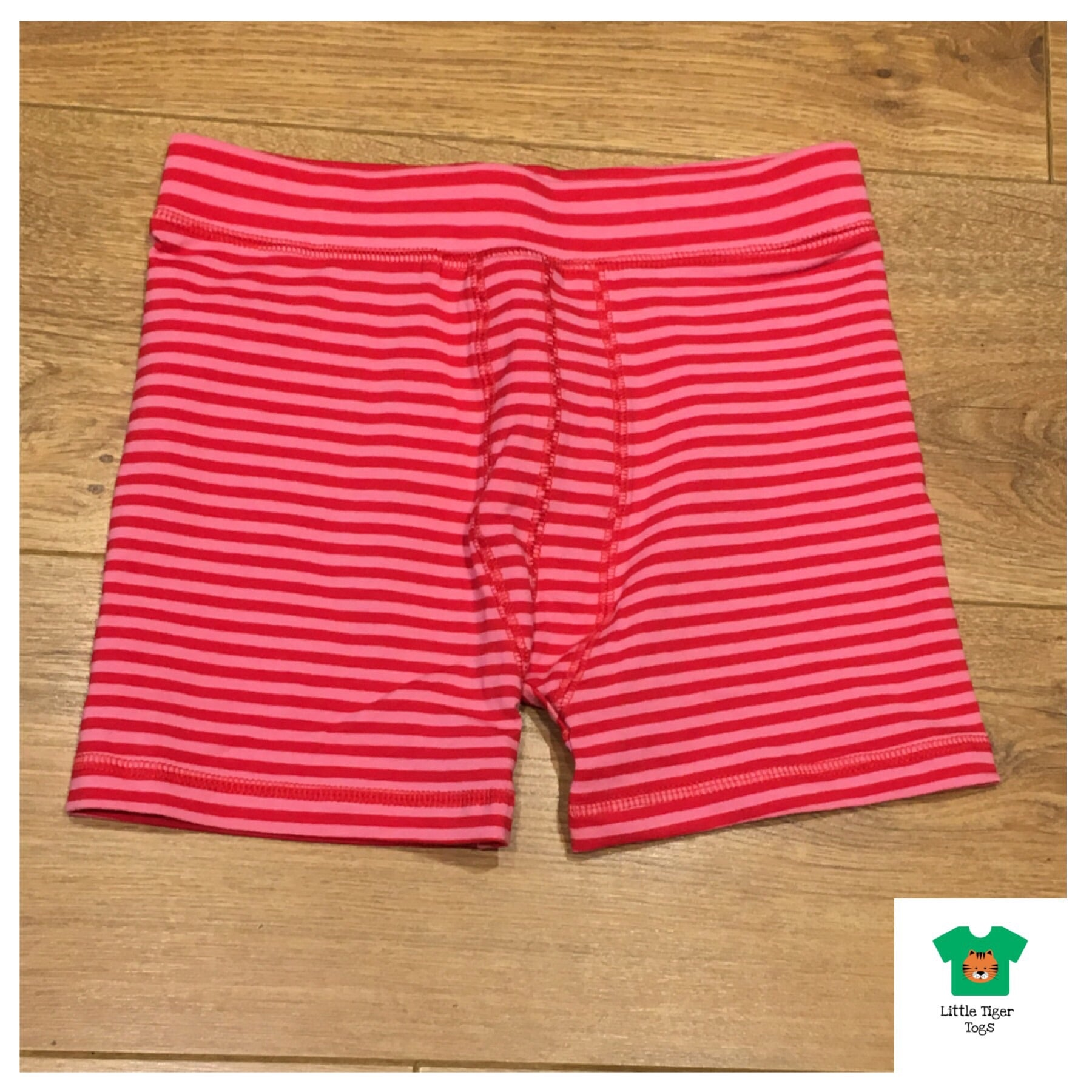 Maxomorra Boxer Shorts Red/Pink - little-tiger-togs