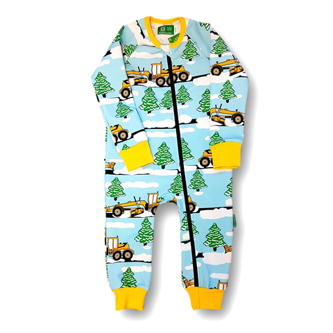 Naperonuttu Jumpsuit Snowplough (French Terry),little-tiger-togs.