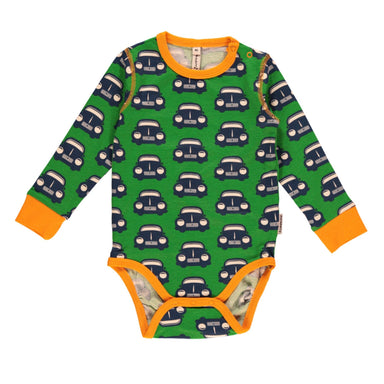 Maxomorra Body LS Retro Car - little-tiger-togs