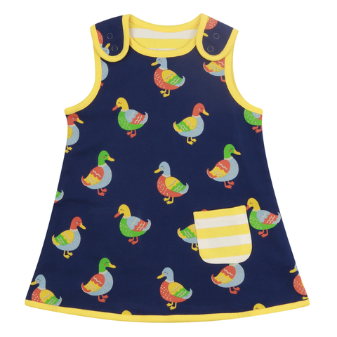 Piccalilly Reversible Dress Duck