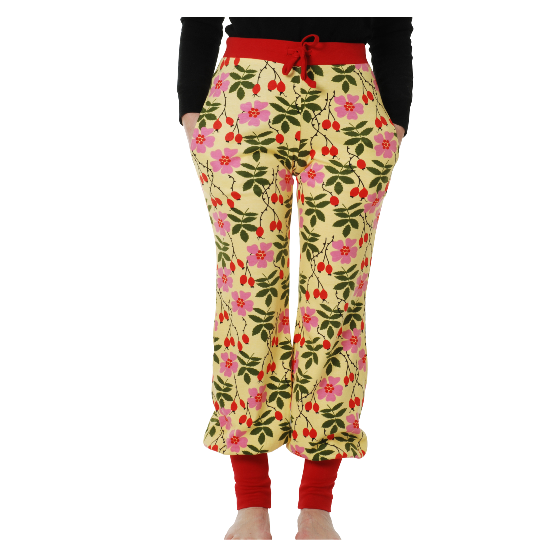 DUNS Sweden Baggy Pants Rosehip (Adult)