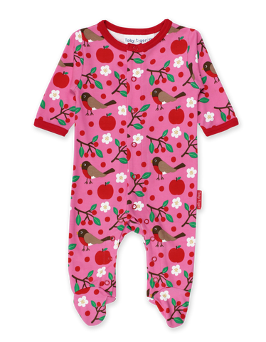 Toby Tiger Sleepsuit Robin