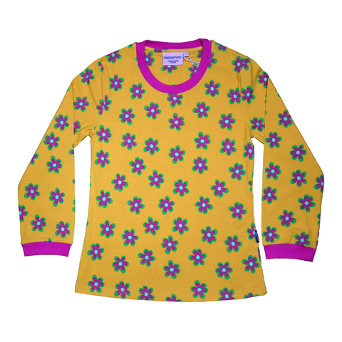 Moromini T-Shirt LS Forest Flowers (Adult - Ladies),little-tiger-togs.