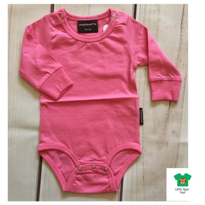 Maxomorra Body LS Pink (Old Dual Sizing) - little-tiger-togs
