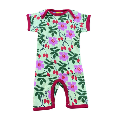 DUNS Sweden Summer Suit Rosehip,little-tiger-togs.