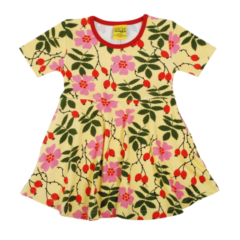 DUNS Sweden Dress Skater SS Rosehip