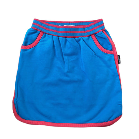 Moromini Retro Running Skirt Blue Jewel - little-tiger-togs