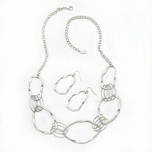 Woven Circles Jewelry Set (pack of 1 SET)
