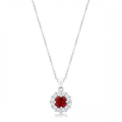 Bella Bridal Pendant In Ruby Red (pack of 1 ea)