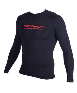 Red Venom Long Sleeve Compression Top