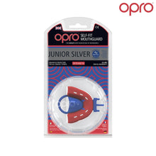 OPRO GEN3 Junior Silver Self-Fit Mouthguard