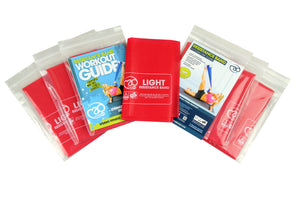 Fitness Mad Resistance Band Light 1.5m x 15cm (10 pack)