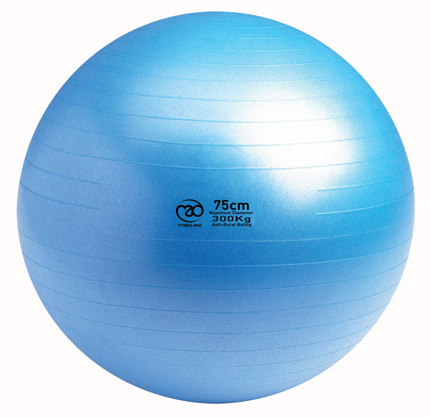 Anti-Burst Swiss Ball 75cm, 300kg Load Rating